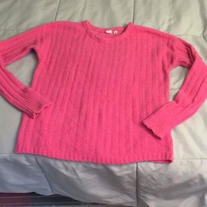 Pink gap sweater - medium tall